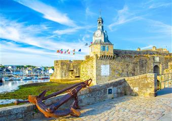 Concarneau and its ramparts